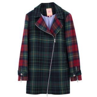 Vilagallo Checked Wool Jacket