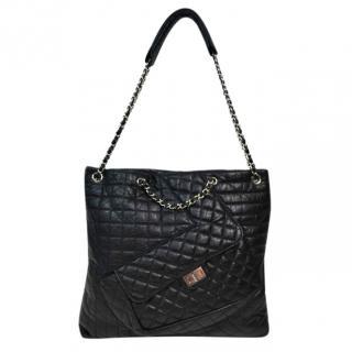 Chanel multi pocket tote bag
