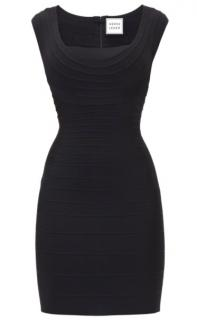 Herve Leger Black Bodycon Dress