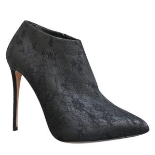 Dolce & Gabbana Kate Lace & Leather Booties
