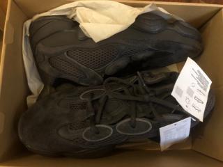 Adidas x Yeezy 500 utility black sneakers
