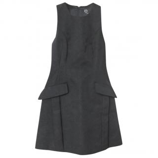 Alexander McQueen Black Shift Dress