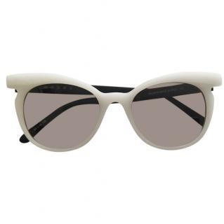 Marni White Classic Sunglasses