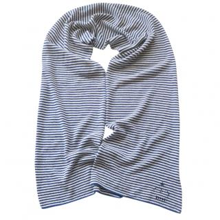 Queene & Belle Striped Cashmere Scarf