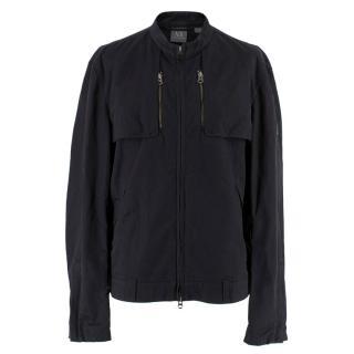 Armani Exchange Men's Black Jacket