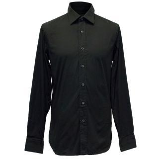 Dsquared Men's Black Cotton Shirt