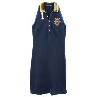Ralph Lauren Halterneck Polo Shirt Dress