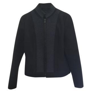 Bottega Veneta Blue Silk Jacket