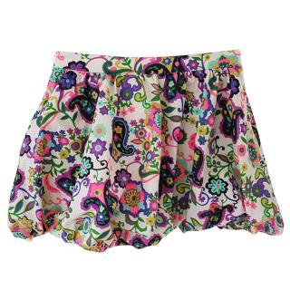 By Malene Birger floral ruffled skirt