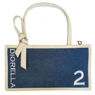 Christian Dior Diorella Denim bag