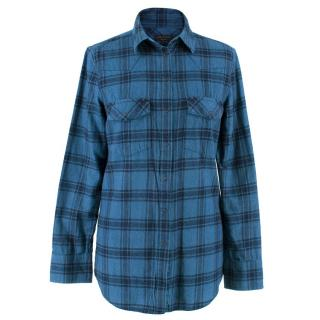 Rag & Bone Check Flannel Shirt