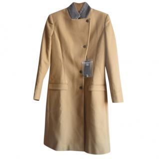 Just Cavalli beige wool coat