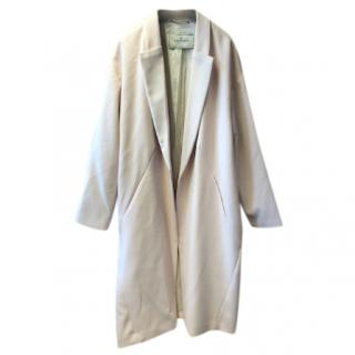 By Malene Birger Oversized Baby Pink Lightweight Coat