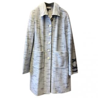St John Tweed Wool Coat
