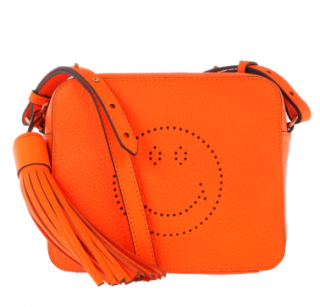 Anya Hindmarch Neon Smiley Crossbody Bag