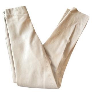 Joseph stretch leather leggings