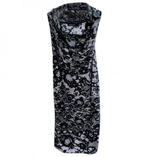 Marc Cain wool fitted dress