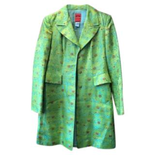 Christian Lacroix Acid Green Frock Coat