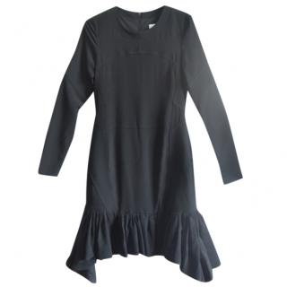 Altuzarra Stretch-Jersey And Neoprene Ruffled Dress