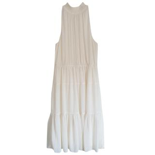 Michael Michael Kors Halterneck Cream Dress