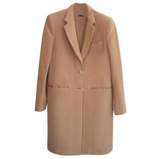 Joseph Camel Wool Coat