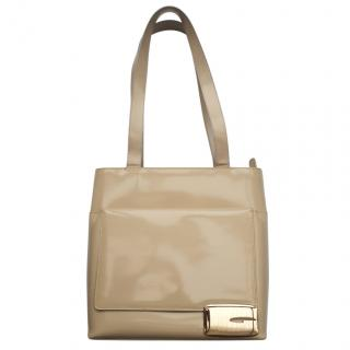 Gucci Tom Ford Beige Patent bag