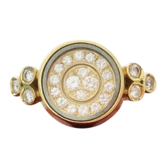 Waltham Spinning Diamond Ring
