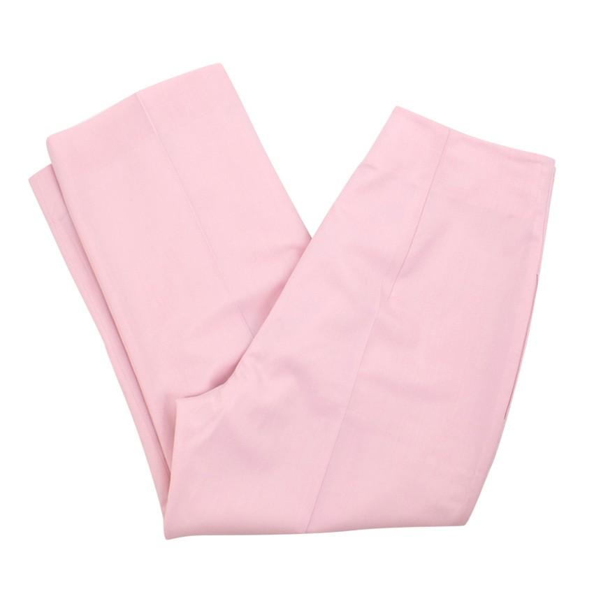 Altuzarra Pink Cigarette Trousers