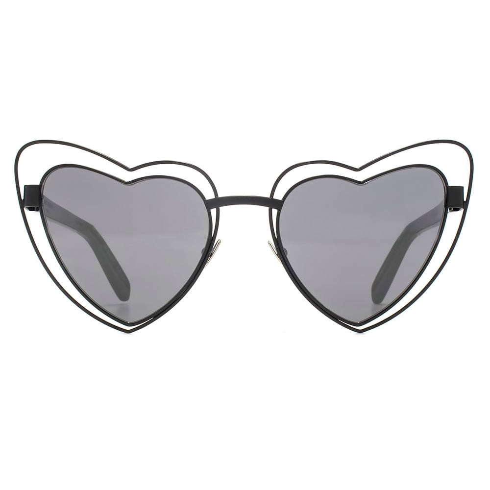 Saint Laurent SL 197 Loulou Metal Heart Sunglasses