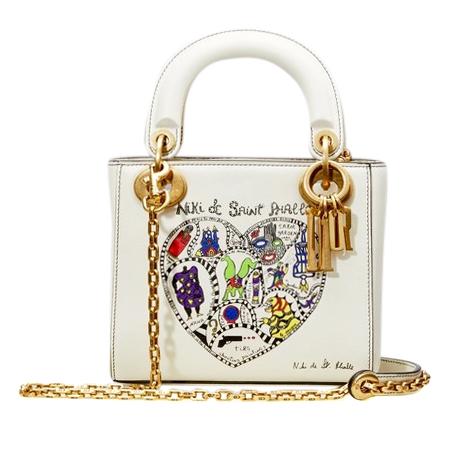 cc382e7c4e8e Dior Limited Edition Niki De Saint Phalle Mini Lady Dior Bag