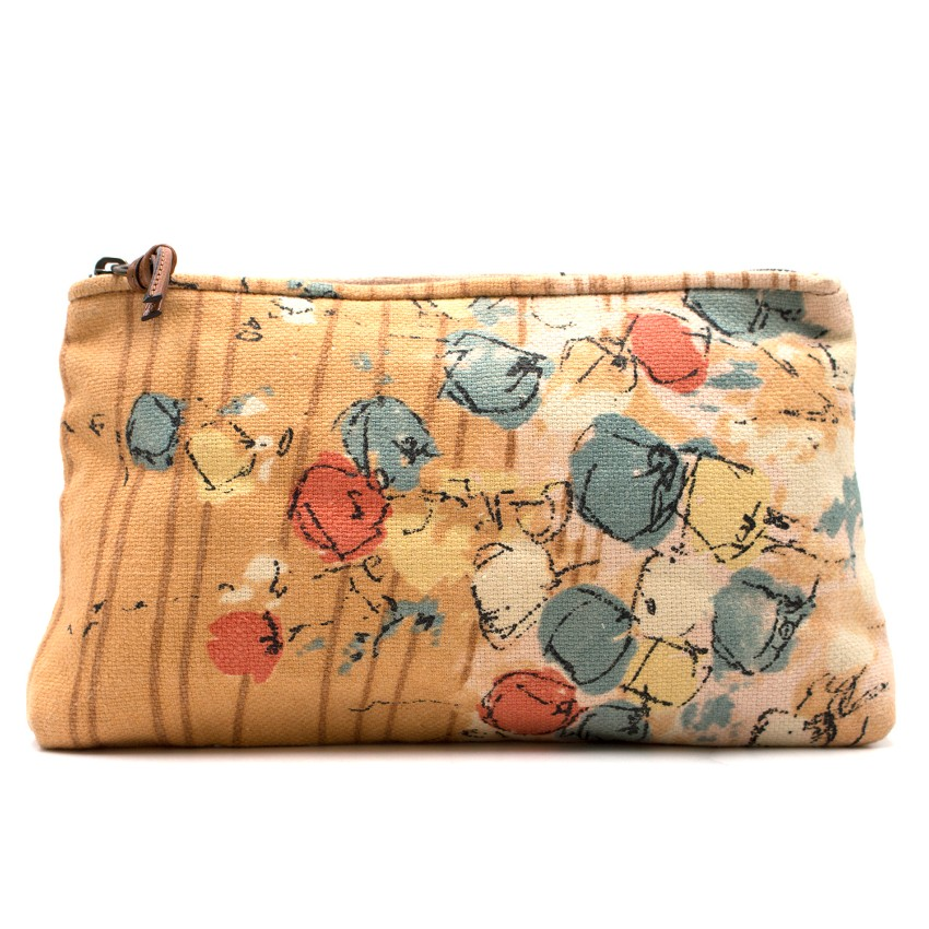 fdc4c7b91c Marni Woven Abstract Printed Zip Clutch