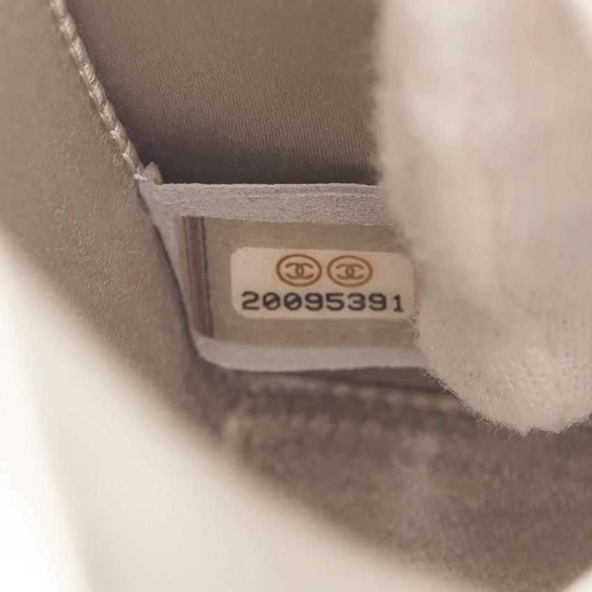 09cbf84ba60e Chanel Iridescent Goatskin Lait De Coco Milk Carton Bag. 22. 12345678910
