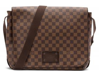 Louis Vuitton Brooklyn Damier Ebene MM Messenger Bag