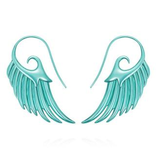 Noor Fares Fly Me To The Moon Earrings Turquoise Sterling Silver