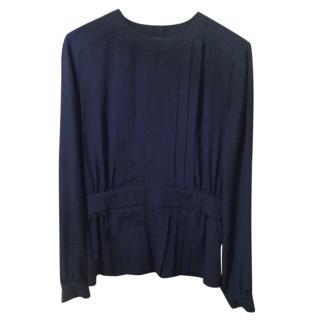 Etro Blue Silk blouse