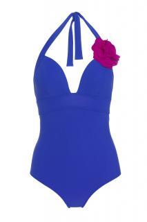 Carizzi Couture Fleur Royal Blue One-Piece