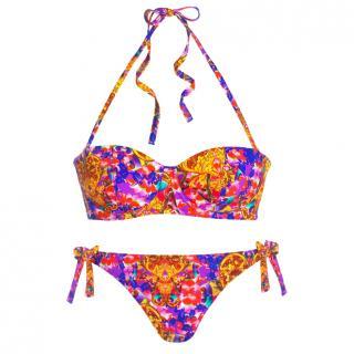 Carizzi Couture Bali Print Balconette Bikini