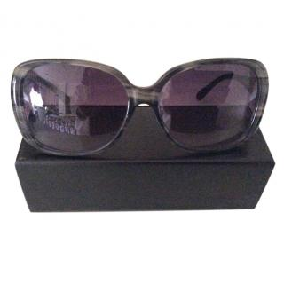 Givenchy Blue/grey sunglasses with diamante detail