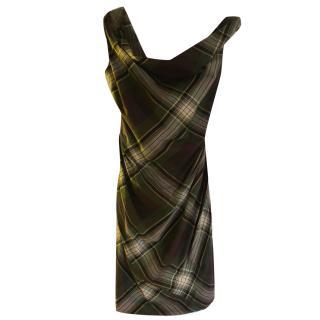 Vivienne Westwood green tartan dress