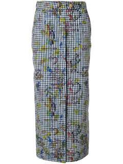 Vivienne Westwood Anglomania check skirt