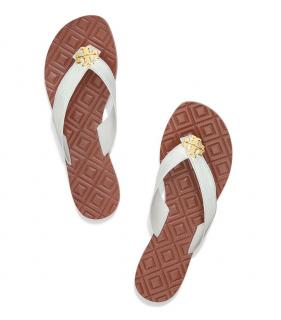 Tody Burch Maybell White Thong Sandals
