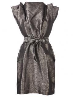 Vivienne Westwood metallic card dress