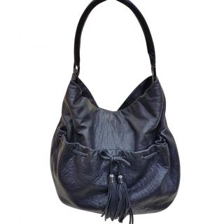 Anya Hindmarch Soft Leather Tassel Top Handle Bag