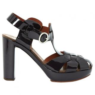 See by Chloe patent leather sandals