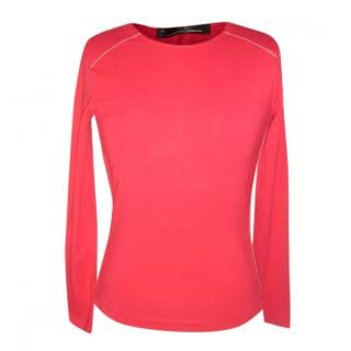 Carolina Herrera red sport top