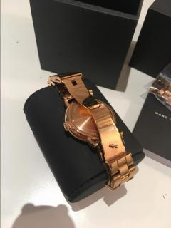 Marc by Marc Jacobs Rose Gold Baker Watch