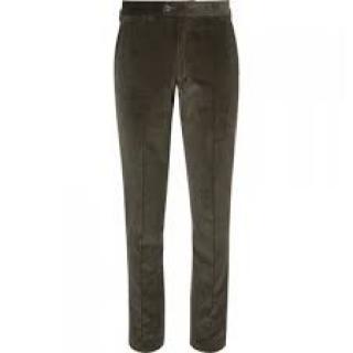 Bottega Veneta Khaki Corduroy Trousers