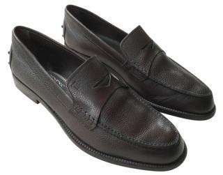 Tod's Men's Dark Brown Loafers