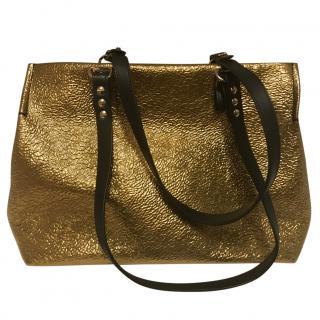 Vivienne Westwood Gold Tote Bag