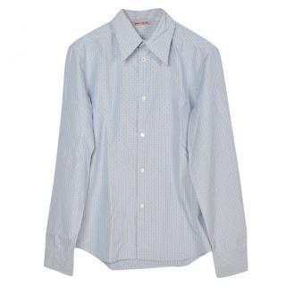 Prada Men's Blue Shirt